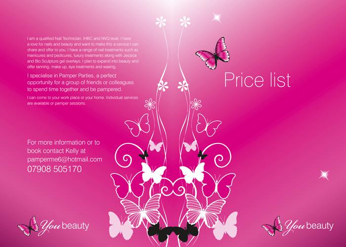cosmetology portfolio template - hartfordesign graphic communication design for print and